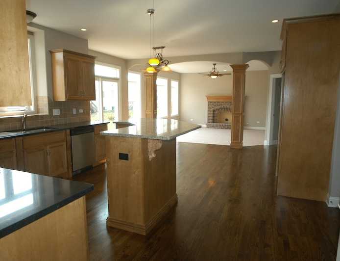 Image of Custom Kitchen in Leanne Floorplan, Stewart Ridge, Plainfield, IL