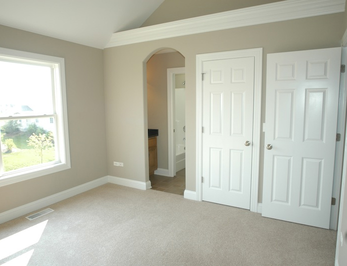 Image of Custom Master Bedroom in Leanne floorplan, Stewart Ridge, Plainfield, IL