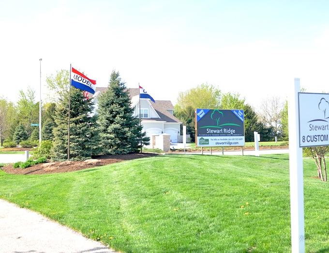 Model Home at Stewart Ridge in Plainfield, IL