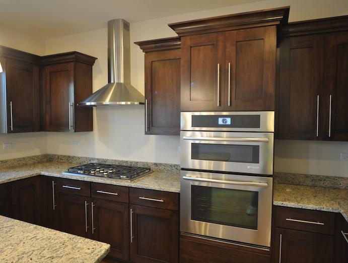 Alternate view of the kitchen in the Karson floorplan