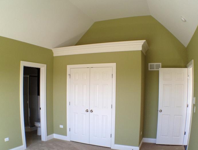Master bedroom, Karson custom floorplan, Stewart Ridge, Plainfield, IL