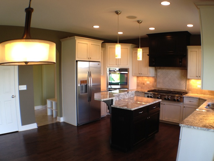 Custom Kitchen in the Karson floorplan, Stewart Ridge