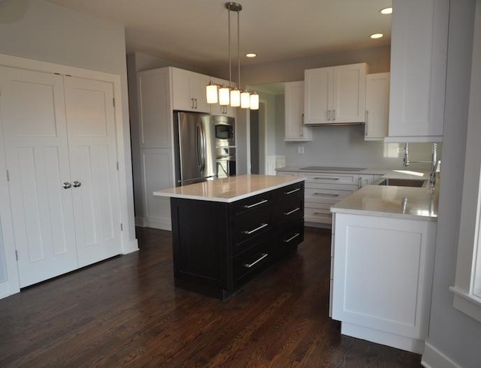 Custom Kitchen in the Alana floorplan, Stewart Ridge, Plainfield, IL