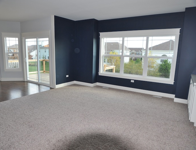 Master Bedroom in the Alana custom home floorplan, Stewart Ridge, Plainfield, IL