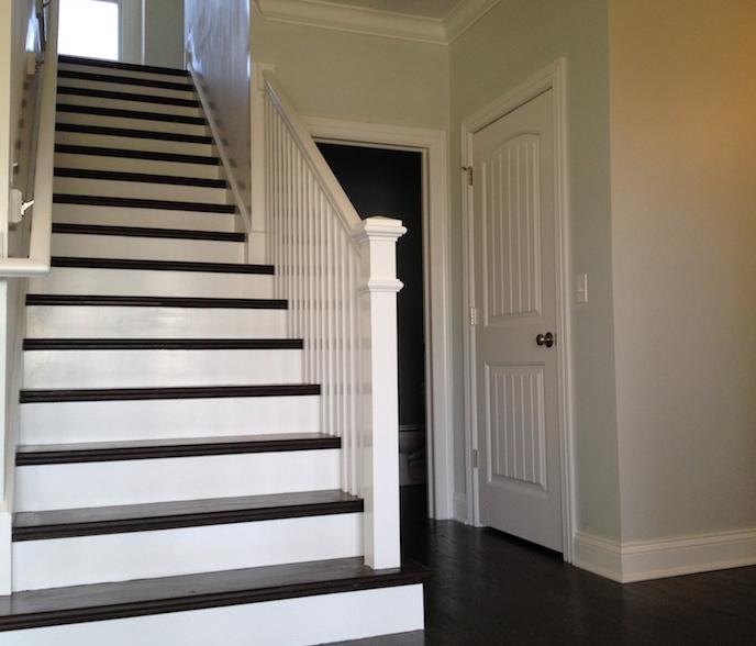 Custom entryway option for the Bella floor plan from DJK Custom Homes