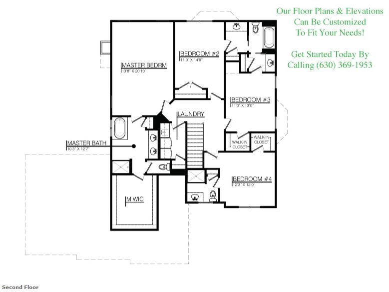 The Jasmine floorplan, Floor 1