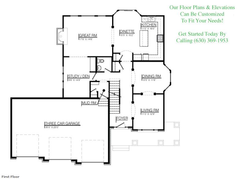 The Jasmine Floorplan, Floor 2