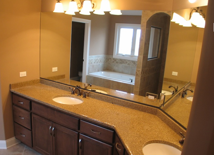Master Bathroom in the Jonathan I floorplan, Plainfield, IL