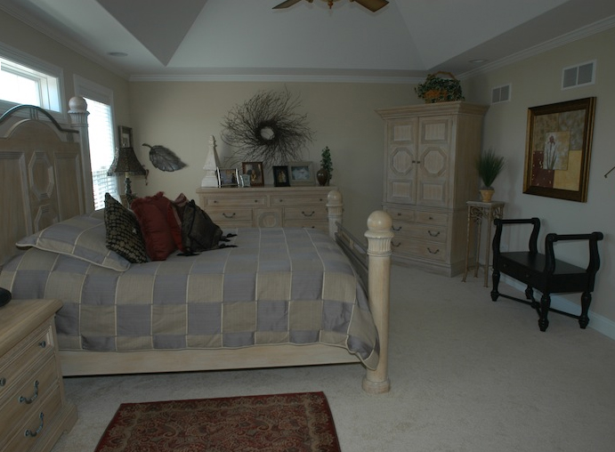 Bedroom in the Jonathan II floorplan