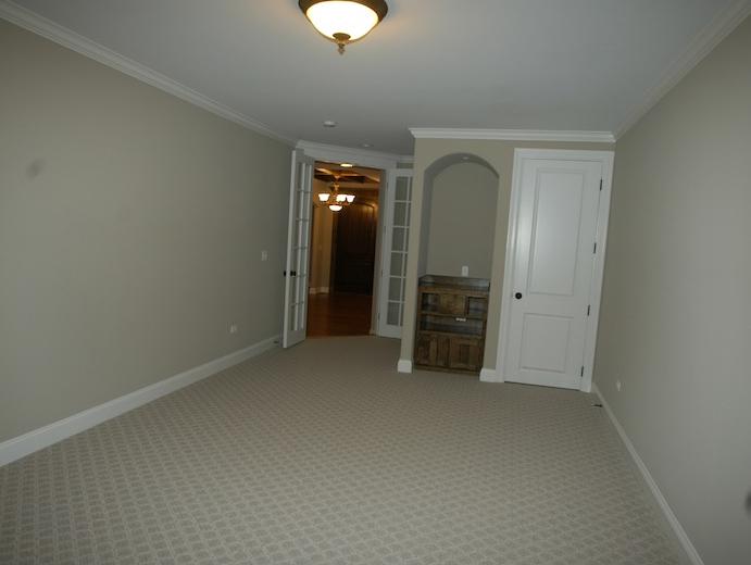 The study / den in the Karson II floor plan