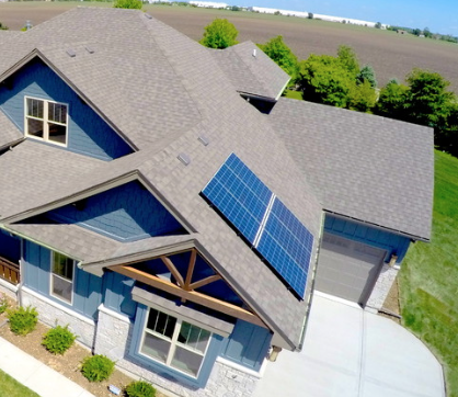 Americana estates custom djk homes solar array