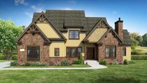 DJK custom homes danielle model first floor master