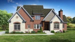 DJK homes builds danielle II model floor plan